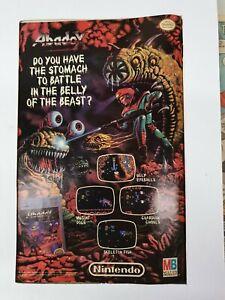 NINTENDO ABADOX MB GAME  VINTAGE  ADVERT retro video  gaming advertisement