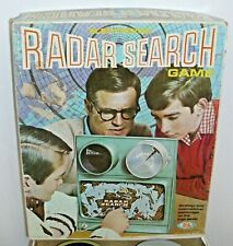 IDEAL ELECTRONIC RADAR SEARCH GAME 1968 GAME BOXED NICE