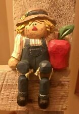 Eddie Walker * Midwest of Cannon Falls * Fall Scarecrow with Apple