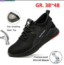 Zapatos de Trabajo Seguridad Hombre Mujer Zapatillas Botas Puntera Acero Ligero