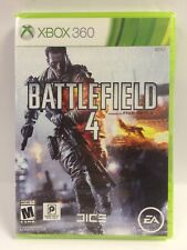 New In Torn Shrinkwrap Battlefield 4 (Xbox 360) Hard Drive Required