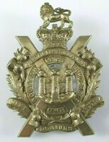 Victorian Scottish Kings Own Borderers Military Cap Badge missing 3rd Lug - VC