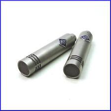 2 NEUMANN KM84 vintage small diaphragm cardioid condenser microphones + XLR