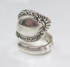 Handcrafted Sterling Silver Textured Spoon Ring ~ Sz 7.75 ~ 14 grams ~ 3-B8530