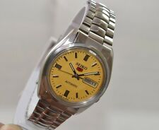 VINTAGE MEN'S SEIKO AUTOMATIC DAY&DATE 17 JEWLES 7009 MOVT. USED WRIST WATCH