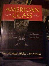 1972 BOOK, AMERICAN GLASS,  FINE ART OF GLASSMAKING IN AMERICA 3000 Illus