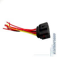 Headlight Wiring Pigtail Connector Plug 1opin 1J0973735 For AUDI A3 VW Jetta Mk4