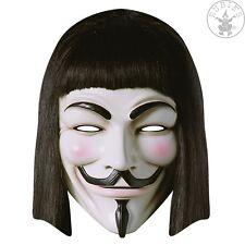 V for Vendetta-pappmaske de rubies 334853 * nuevo * card Mask * haters