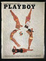Playboy, magazine, Jul, 1966, Tish Howard, Vargas