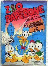 ZIO PAPERONE SUPPLEMENTO AL N.13 SPECIALE PAPERINO N.2 MONDADORI 1988