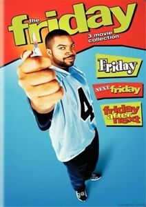 FRIDAY 3 MOVIE COLLECTION New Sealed DVD Ice Cube Chris Tucker Next After Next