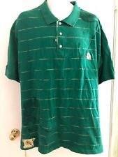 AKADEMIKS MEN'S green COTTON SHORT SLEEVE POLO SHIRT SIZE 2XL/2tg 90's street
