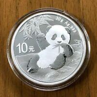 China 2020  Panda Silver 30g 10 Yuan Coin