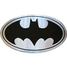 BATMAN Logo On Silver Metal Medium Sized New Sticker/Decal DC Comics super hero