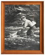 Photo sportive pêcheur das les années 50