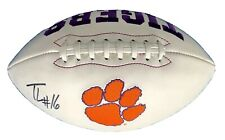 TREVOR LAWRENCE Signed Autographed Official NCAA Champions TIGERS Football COA