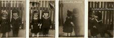 Boy meets Girl, a series of 4 super-cute Original Photos from 1924