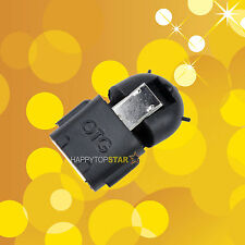 Black Micro USB 2.0 Host Male to USB Female OTG Adapter Android Tablet PC Phone