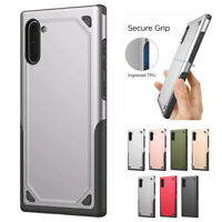 For Samsung Galaxy Note10 Carbon Fibre Ultra thin 4 Corners Antifall Case Cover