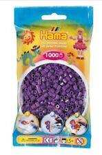Hama - 207-07 Sachet 1000 Perles à repasser Violet