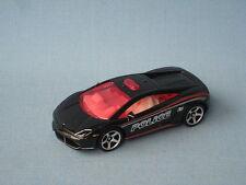 MATCHBOX LAMBORGHINI Galleria LP 550 auto della polizia polizia NERO toy model car