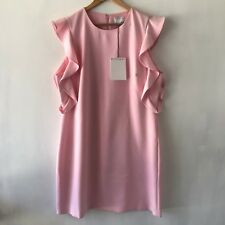 Witchery Sz 16 Carnation Ruffle Detail Dress Pink - XL CR Love