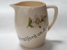 """Stratford on Avon"" NEW DEVON POTTERY~NEWTON ABBOT~CREAMERS~Made in England"