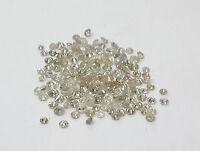 1.3mm 0.06cts 5pc Natural Loose Brilliant Cut Diamond I2-I3 Clarity I-J Color