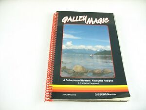 Galley Magic cookbook 1987 gibsons bc