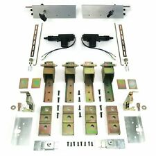 2 Door Individual Suicide Hidden Hinge System with Latches & Deadloc AutoLoc