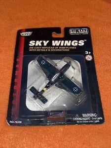 Motormax Sky wings Diecast German Messerschmitt BF-109 WW2 fighter aircraft New