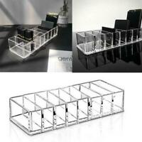 Women Clear Makeup Holder Jewelry Organizer Acrylic Case Storage Cosmetic B K3Q0