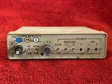 CESSNA AUDIO PANEL P/N 0570115-6-28 WITH TRAY