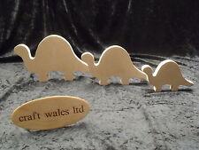 MDF Dinosaur Shape Wooden 18mm Freestanding Craft Home Decoration
