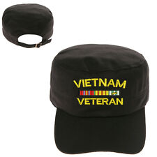 VIETNAM VETERAN MILITARY CADET ARMY CAP HAT HUNTER CASTRO