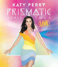 KATY PERRY: The Prismatic World Tour - LIVE HITS + EXTRAS! DVD  New & Sealed