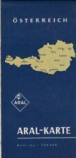 antico Aral Cartina geografica Austria (aral22)