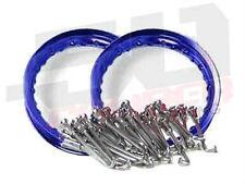 "High Performance Spoke Kit 2 Aluminum Wheels 12"" Honda 50 xr crf Dirtbike Rim"