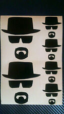 6 x Heisenberg Breaking Bad Walter White Vinyl Decal Adesivo Auto iPad Mac mobile