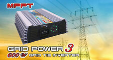 600 Watt MPPT Grid Tie Inverter for Wind Turbine Solar