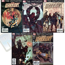 NEW WARRIORS v4 #1-9 SET VF-NM