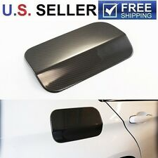 Real Carbon Fiber Gas Fuel Door Cover For 2007-2013 BMW X5 E70 X5M