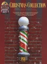 Christmas Collection Sing with the Barbershop Quartet Sheet Music Book/CD