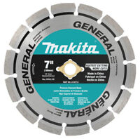 Makita 7 in. Segmented Rim General Purpose Diamond Blade