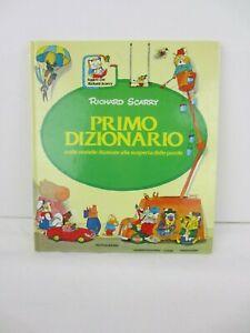 """Libro """"Primo dizionario"""" di Richard Scarry - Mondadori ristampa 1998"""