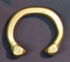 D1 Art africain 1940 superbe bracelet bronze patiné 365g10c bijou ancien chic