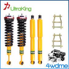 "Toyota Hilux KUN26 4WD HD Shocks + Coil Springs 3"" Front 2"" Rear HD Lift Kit"