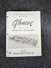 Glencoe Models 4 10 17 Spring Tine Cultivators S46j43