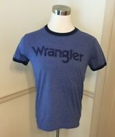 NWT NEW Men's Wrangler Ringer T-Shirt T Tee Shirt Crew Neck MQ7726N or MQ7725W