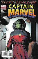 Captain Marvel Comic Issue 3 Limited Second Print Variant Modern Age 2008 Reed